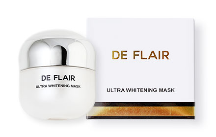 De Flair Ultra Whitening Mask 25ml ( สินค้าหมดอายุ : 2019.05 )
