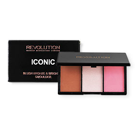 Makeup Revolution Iconic Pro Blush Bronze and Brighten #Smoulder