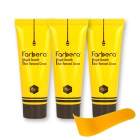 Farbera Rapid Smooth Hair Removal Cream Set (25g x3)