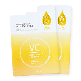 แพ็คคู่ It's Skin Power 10 Formula VC Mask Sheet 2 Pcs