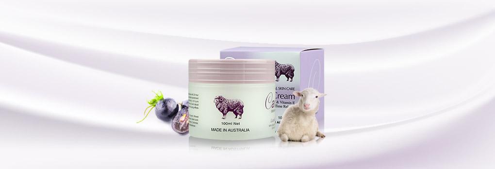 Careline Lanolin Cream with Grape Seed Oil & Vitanmin E 100ml