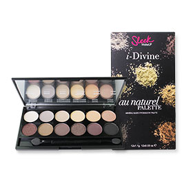 Sleek i-Divine Mineral Based Eye Shadow Palette #Au Naturel-601