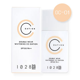 1028 Visual Therapy Double Wear Whitening CC-Dation SPF30 PA++ 35g #OC-01 Light Beige