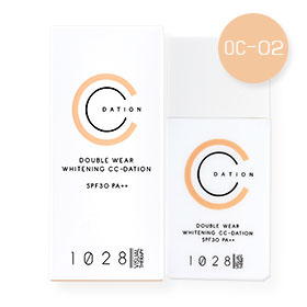 1028 Visual Therapy Double Wear Whitening CC-Dation SPF30 PA++ 35g #OC-02 Nude Beige