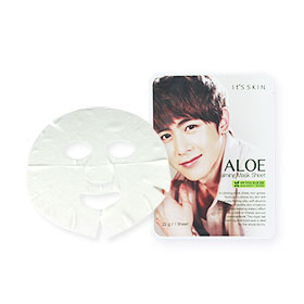 It's Skin Aloe Calming Mask Sheet (22g x 2 Sheet)