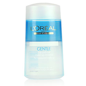 L'oreal Gentle Lip and Eye Remover for Waterproof Make-up 125ml
