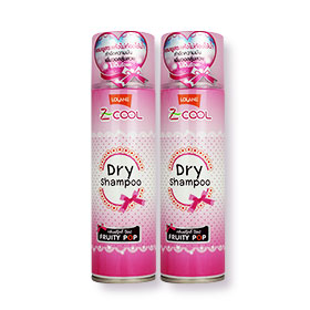 แพ็คคู่ Lolane Z Cool Dry Shampoo #Fruity Pop (200ml x 2)