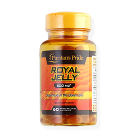 Puritan's Pride Royal Jelly 500mg (60 Softgels)