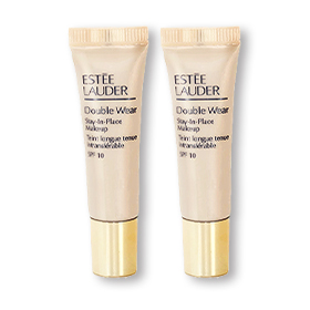 แพ็คคู่ Estee Lauder Double Wear Stay-In-Place Makeup SPF10 #2W1 Sand36(7mlx2)