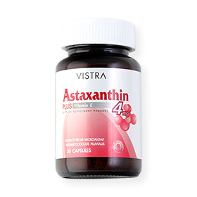 Vistra Astaxanthin Plus Vitamin E 30 Tablets