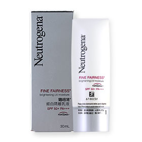 Neutrogena Fine Fairness Brightening UV Moisture SPF 50+PA+++  30ml