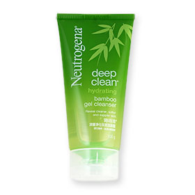 Neutrogena Deep Clean Hydrating Bamboo Gel Cleanser 100g