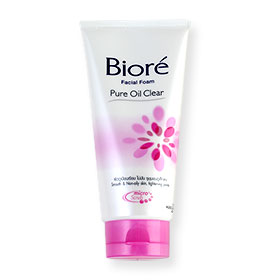Biore Facial Foam Pure Oil Clear 100g
