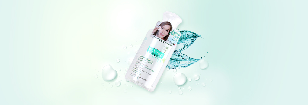 Smooth E Babyface 5in1 Extra Sensitive Makeup Clansing Water For Face & Eyes 300ml