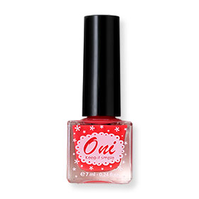 Oni Nail Lacquer Everyday Color #Love Red-09