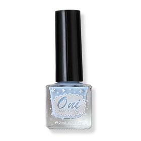 Oni Nail Lacquer Everyday Color #Sad Blue-08(สินค้านี้ไม่ร่วมรายการซื้อ 2 ชิ้นฟรีค่าจัดส่ง)