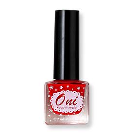 Oni Nail Lacquer Classic Color #Rouge Red-06(สินค้านี้ไม่ร่วมรายการซื้อ 2 ชิ้นฟรีค่าจัดส่ง)