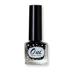 Oni Nail Lacquer Classic Color #Noir Black-10(สินค้านี้ไม่ร่วมรายการซื้อ 2 ชิ้นฟรีค่าจัดส่ง)