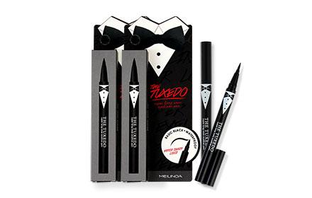 แพ็คคู่ Mei Linda The Tuxedo Super Long Wear Eye Liner Pen #MC 3070 (1gx2)