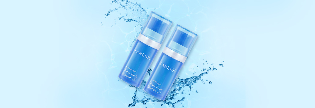 แพ็คคู่ Laneige Water Bank Essence_EX (10ml×2)