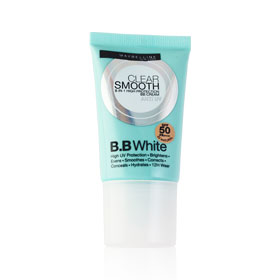 Maybelline Clear Smooth BB White SPF50/PA+++  #02 Natural  18g
