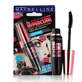Maybelline Volum' Express the Hypercurl Mascara Waterproof #Black