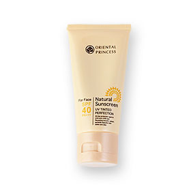 Oriental Princess Natural Sunscreen UV Tinted Perfection SPF40/PA+++ 50g