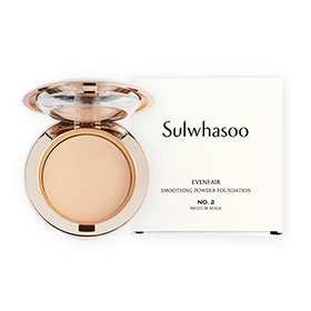 Sulwhasoo Evenfair Smoothing Powder Foundation #No.2 Medium Beige 10g