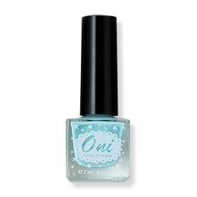 Oni Nail Lacquer Pastel Color #Blueberry Aqua-04 (สินค้านี้ไม่ร่วมรายการซื้อ 2 ชิ้นฟรีค่าจัดส่ง)