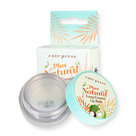 Cute Press Plus Natural Young Coconut Lip Balm 6.5g