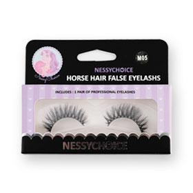 NessyChoice Horse Hair False EyeLashs 1pairs #M05