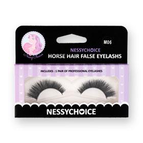 NessyChoice Horse Hair False EyeLashs 1pairs #M06