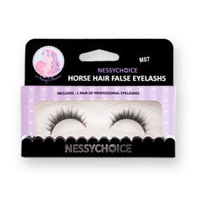 NessyChoice Horse Hair False EyeLashs 1pairs #M07
