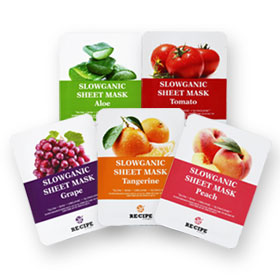 Re-Cipe Slowganic Mask Set 5 sheets