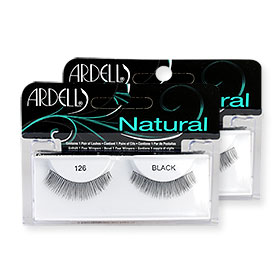 แพ็คคู่ Ardell Fashion Lashes #126 Black