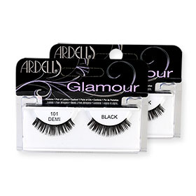 แพ็คคู่ Ardell Fashion Lashes #101 Demi Black