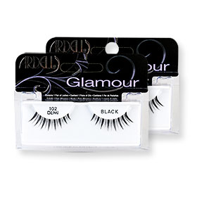 แพ็คคู่ Ardell Fashion Lashes #102 Demi Black