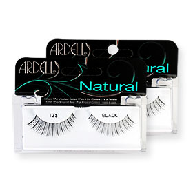 แพ็คคู่ Ardell Fashion Lashes #125 Black