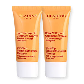 แพ็คคู่ Clarins One-Step Gentle Exfoliating Cleanser (30mlX2)