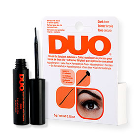 Duo Brush On Striplash Adhesive #Dark Tone 5g (Orange)