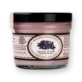 Beauty Cottage Wild Berry & Yoghurt Bright & White Facial Scrub 100g