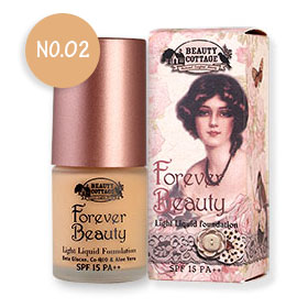 Beauty Cottage Forever Beauty Light Liquid Foundation SPF15 PA++ 20ml #No 02 Natural Honey