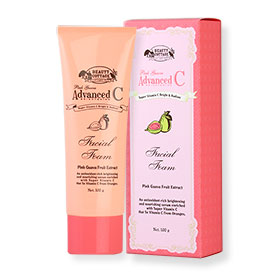 Beauty Cottage Pink Guava Advanced C Brightening Facial Foam 100g