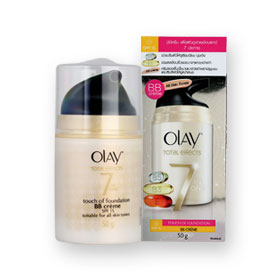 Olay+Total+Effects+7+in+1+Touch+Of+Foundation+BB+Creme+SPF15+50g