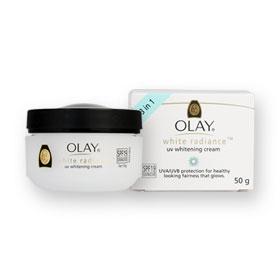 Olay White Radiance UV Whitening Cream SPF19 UVA/UVB Protection 50g
