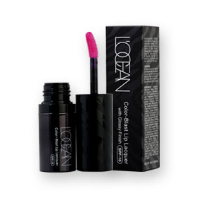 L'Ocean Color-Blast Lip Lacquer With Glossy Finish SPF10 5ml #02 Samos