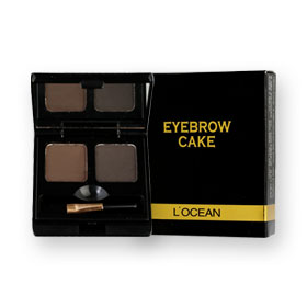 L'Ocean Eyebrow Cake (2gx2) #01 Black Brown