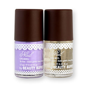 Beauty Buffet The Bakery Nail Enamel Set 2 Items (13ml x 2pcs) #Top + M36