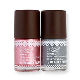Beauty Buffet The Bakery Nail Enamel Set 2 Items (13ml x 2pcs) #Y30 + B22