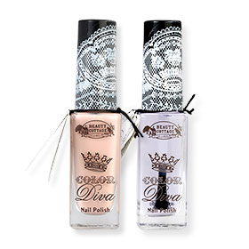 Beauty Cottage Color Diva Nail Polish Set 2 Item (10ml x 2pcs) #CD.01 + CD.08